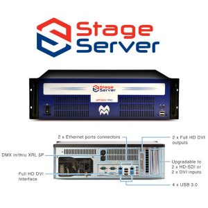 Stage Server (Express) - Preloaded With Media Master Express 5