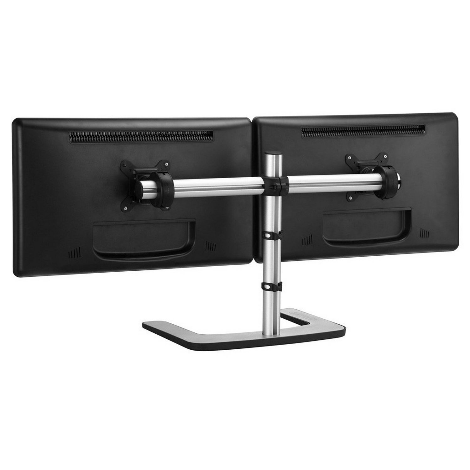Dual/single monitor desk mount