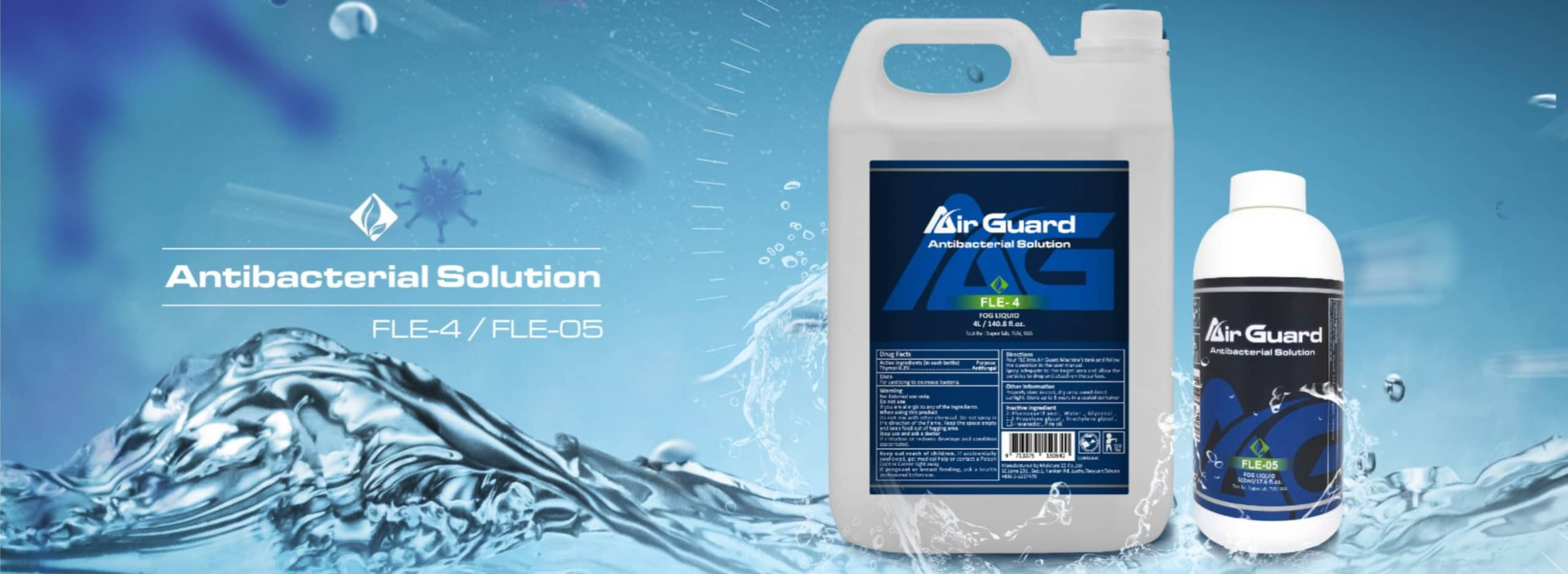 Air Guard - Easy Go, Easy Use! Portable design means you can use the disinfector anywhere - in your home, office, boat, car, anywhere! Eficiently eliminate the bad odor and bacteria, mold, fungi in short time.